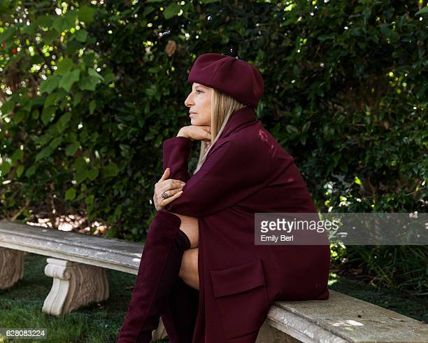 American singer songwriter actress and filmmaker Barbra Streisand is photographed for New York Times on July 19 2016 in Los Angeles California