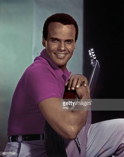 American singer songwriter and actor Harry Belafonte circa 1955
