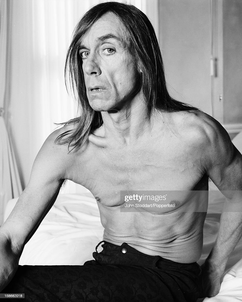 American singer, songwriter and musician <a gi-track='captionPersonalityLinkClicked' href=/galleries/search?phrase=Iggy+Pop&family=editorial&specificpeople=171445 ng-click='$event.stopPropagation()'>Iggy Pop</a>, circa 2000.