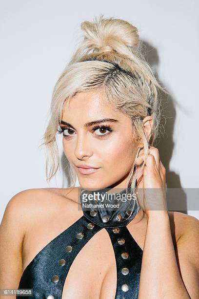 American singer songwriter and record producer Bebe Rexha is photographed for GQcom on June 28 2016 in Los Angeles California