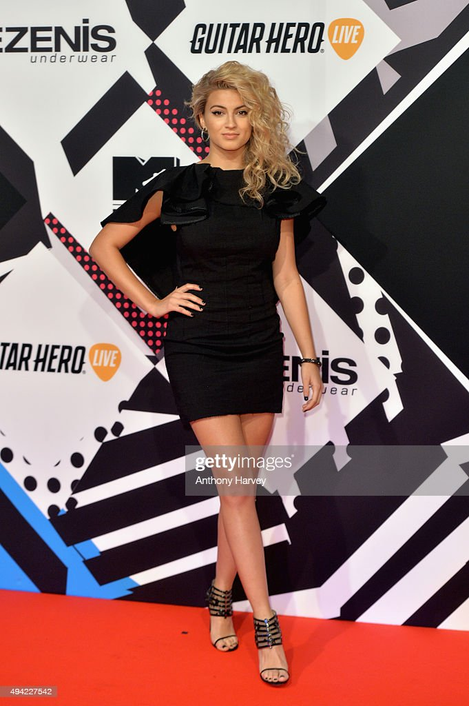 American singer songwriter Tori Kelly attends the MTV EMA's 2015 at the Mediolanum Forum on October 25 2015 in Milan Italy