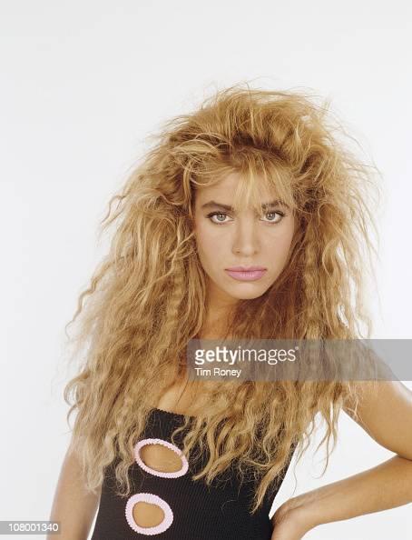 American singer Taylor Dayne circa 1985