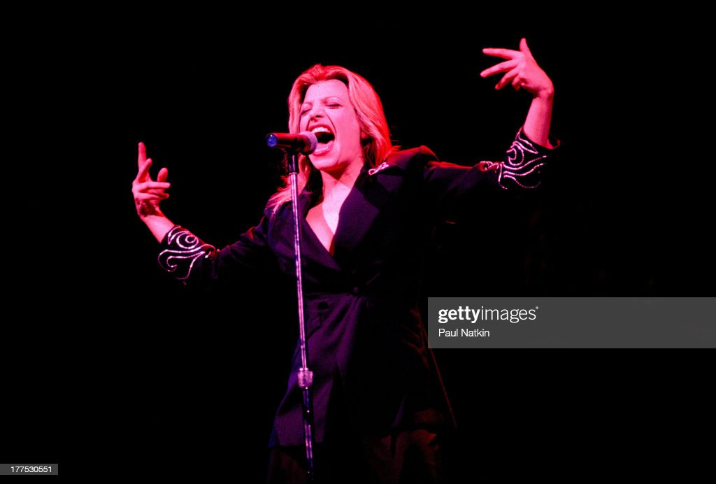 American singer Taylor Dayne performs on stage Merrilville Indiana August 15 1990
