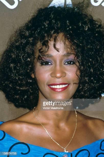 American singer Whitney Houston circa 1995