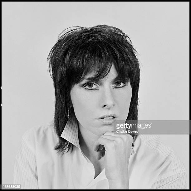 American singersongwriter and guitarist Chrissie Hynde of EnglishAmerican rock group The Pretenders photographed in London 1983