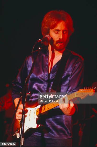 American singersongwriter and musician Andrew Gold performing on stage USA 17th April 1978