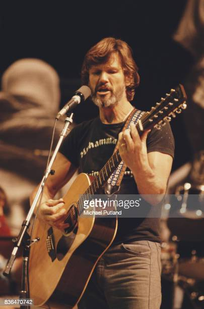 American singersongwriter and musician Kris Kristofferson performs at 'The Music for UNICEF Concert A Gift of Song' benefit concert held at the...
