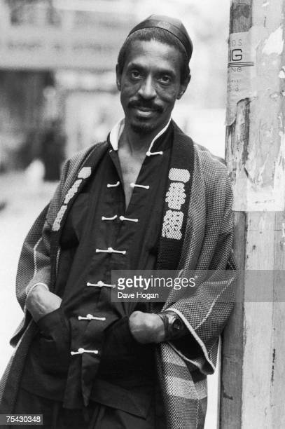 American singersongwriter and producer Ike Turner in an oriental outfit 1985