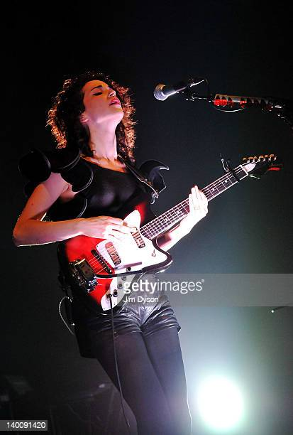 American singersongwriter Annie Clark aka St Vincent performs live on stage at Shepherds Bush Empire in support of her third album 'Strange Mercy' on...