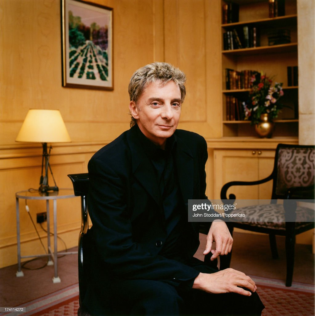 American singer-songwriter Barry Manilow in England, 1999.