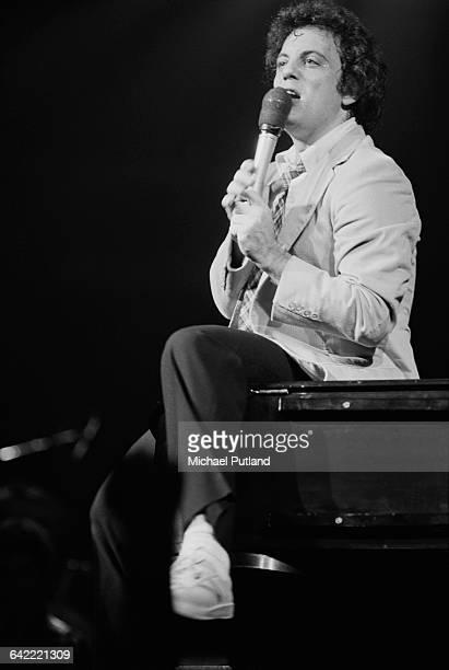 American singersongwriter Billy Joel performing on stage USA November 1978