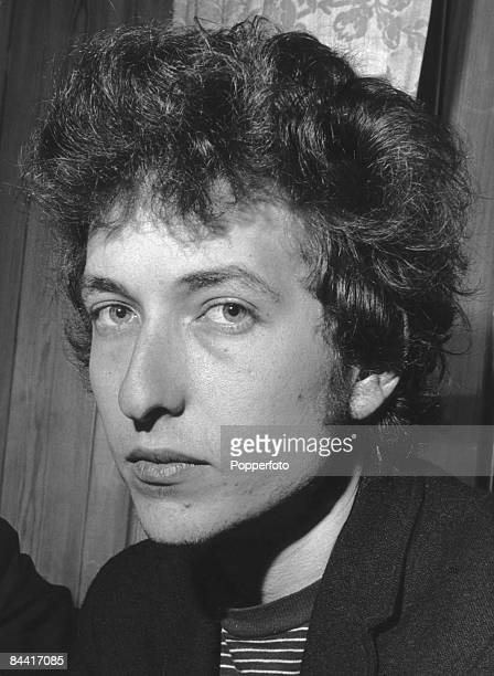 American singersongwriter Bob Dylan at the Savoy Hotel in London during a British tour April 1965