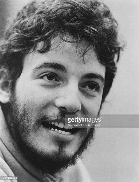 American singersongwriter Bruce Springsteen circa 1974