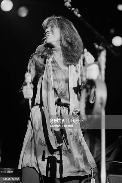 American singersongwriter Carly Simon performing in New York USA April 1978