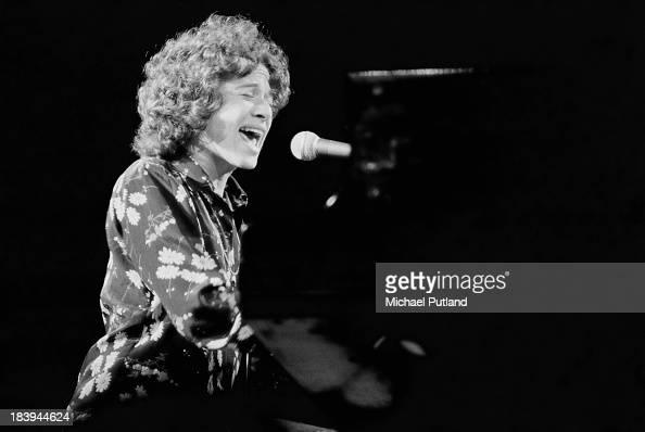 American singersongwriter Carole King performing July 1973