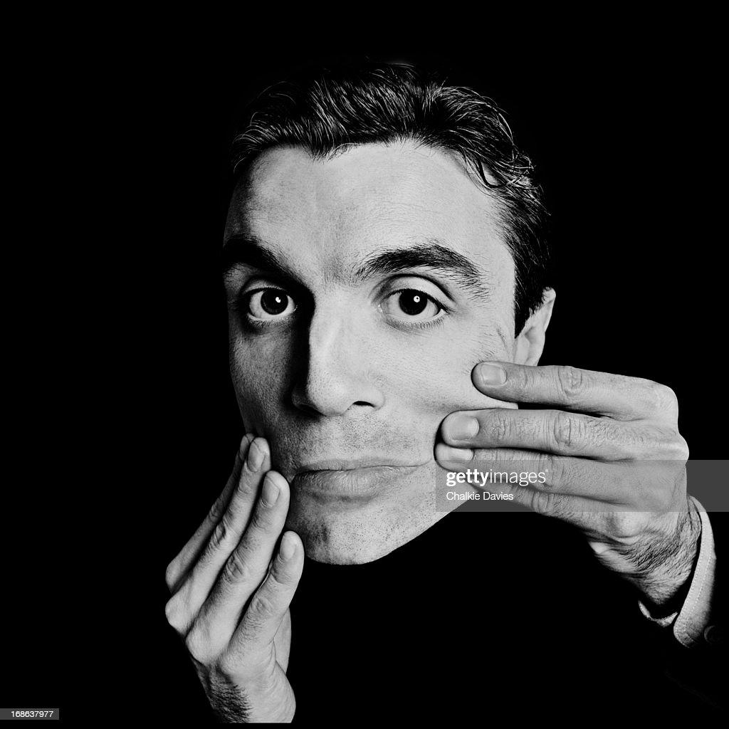 American singer-songwriter David Byrne, of American new wave group Talking Heads, London, 1983.