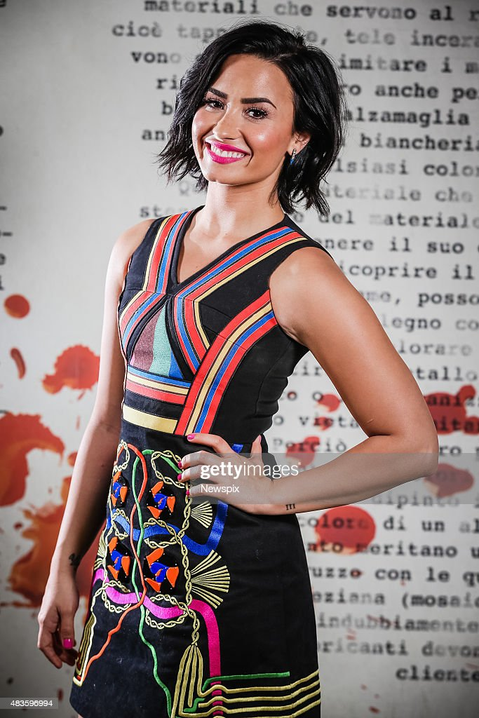 American singer-songwriter <a gi-track='captionPersonalityLinkClicked' href=/galleries/search?phrase=Demi+Lovato&family=editorial&specificpeople=4897002 ng-click='$event.stopPropagation()'>Demi Lovato</a> poses during a photo shoot in Sydney, New South Wales.