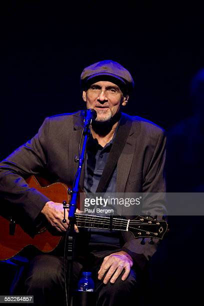 American singersongwriter James Taylor performs on stage at Theater Carre Amsterdam Netherlands 31 March 2015