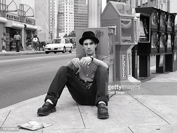 American singersongwriter Jeff Buckley Atlanta Georgia USA August 1994
