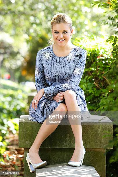 American singersongwriter Kelsea Ballerini poses during a photo shoot in Sydney New South Wales