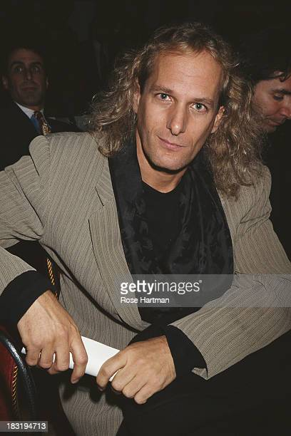 American singersongwriter Michael Bolton attends a Victoria's Secret fashion show New York City circa 1997