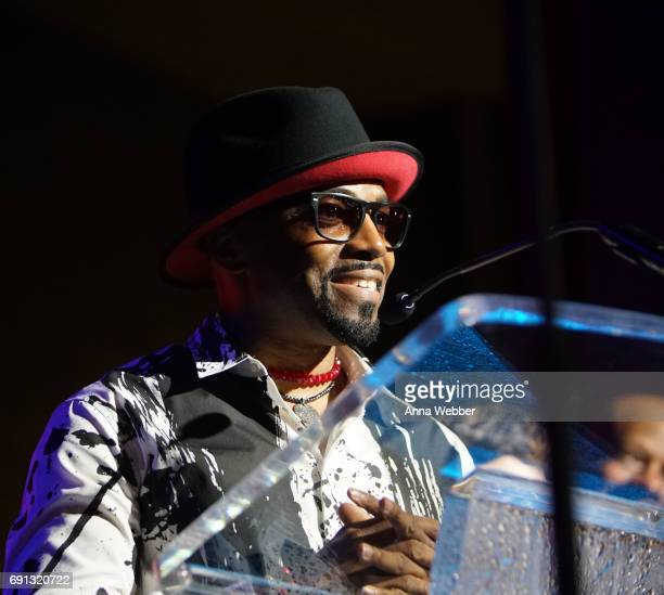 American singersongwriter musician keyboardist and record producer Teddy Riley during the 4th Annual My Music Matters A Celebration Of Legends Lunch...