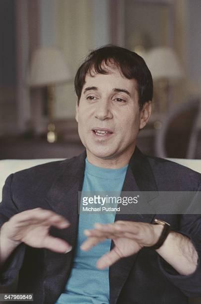 American singersongwriter Paul Simon London 1986