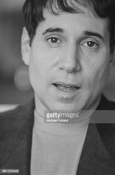 American singersongwriter Paul Simon London September 1986