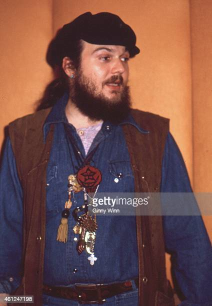 American singersongwriter pianist and guitarist Dr John 1973 in studio in Los Angeles California