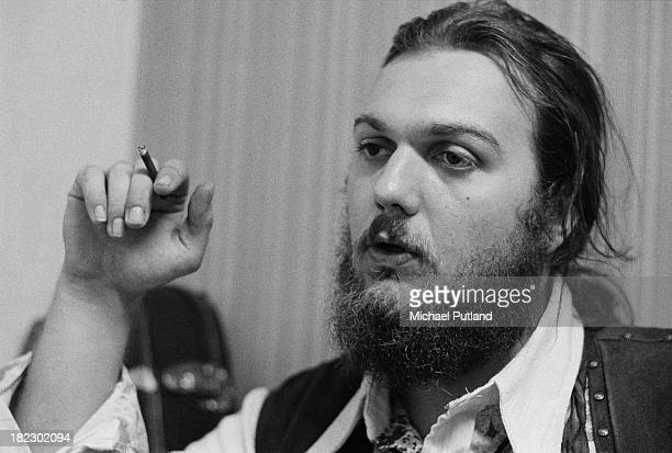American singersongwriter pianist and guitarist Dr John during an interview at the Montreux Jazz Festival in Montreux Switzerland 1st July 1973