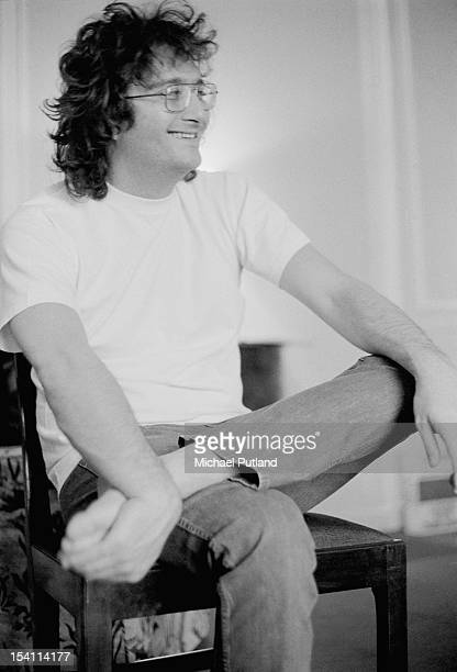 American singersongwriter Randy Newman at the Savoy Hotel London March 1972