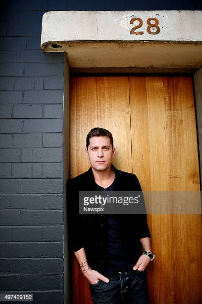 American singersongwriter Rob Thomas poses during a photo shoot in Melbourne Victoria