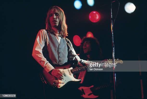 American singersongwriter Tom Petty of Tom Petty and the Heartbreakers performing at the Hammersmith Odeon 14th May 1977