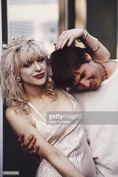 American singersongwriters Courtney Love and Evan Dando 1994