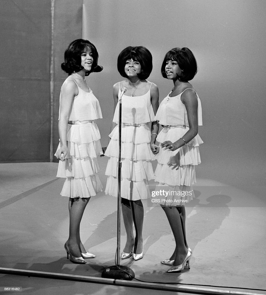 American singing group the Supremes perform on 'The Ed Sullivan Show' December 27 1964 From left Florence Ballard Diana Ross and Mary Wilson