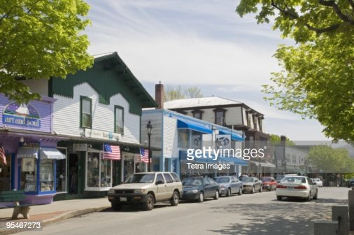 American small town