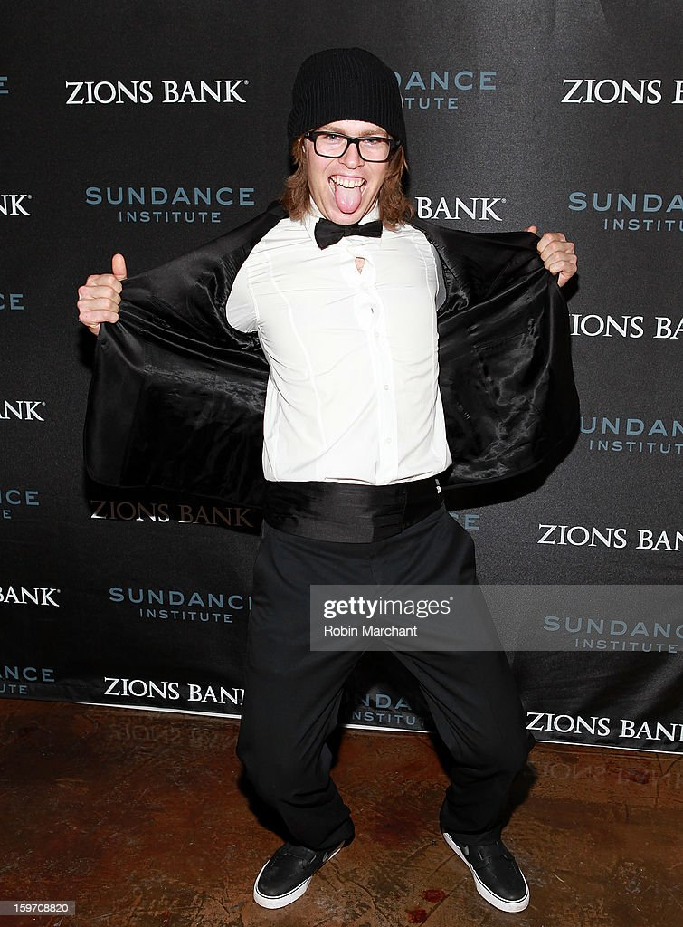 American snowboarder <a gi-track='captionPersonalityLinkClicked' href=/galleries/search?phrase=Kevin+Pearce&family=editorial&specificpeople=3107126 ng-click='$event.stopPropagation()'>Kevin Pearce</a> attends SLC Gala Reception presented by Zions at Pierpont Place on January 18, 2013 in Salt Lake City, Utah.