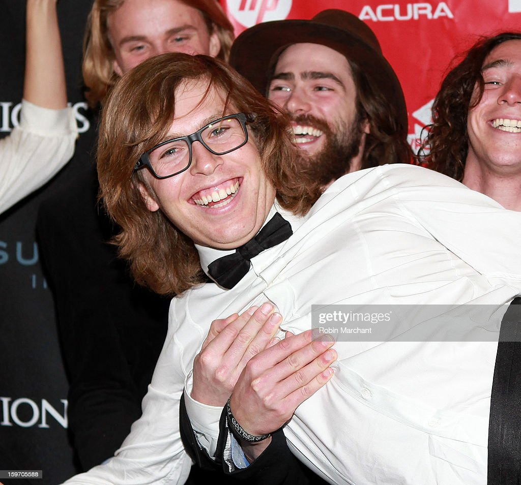 American snowboarder Kevin Pearce attends 'The Crash Reel' Premiere at Rose Wagner Performing Arts Center on January 18, 2013 in Salt Lake City, Utah.