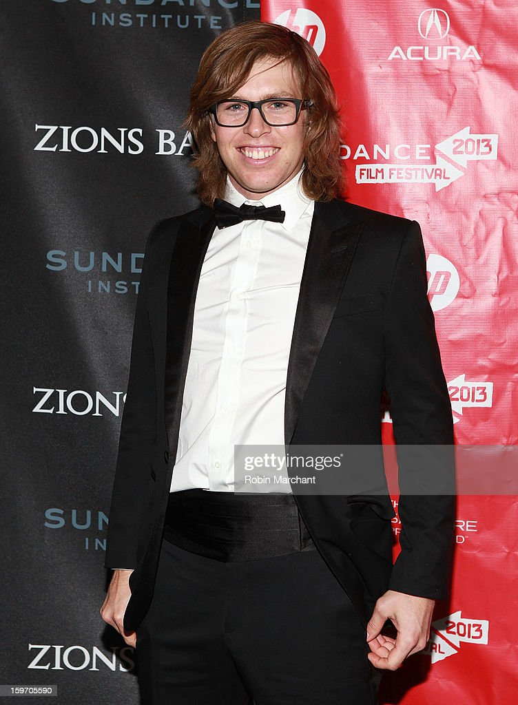 American snowboarder <a gi-track='captionPersonalityLinkClicked' href=/galleries/search?phrase=Kevin+Pearce&family=editorial&specificpeople=3107126 ng-click='$event.stopPropagation()'>Kevin Pearce</a> attends 'The Crash Reel' Premiere at Rose Wagner Performing Arts Center on January 18, 2013 in Salt Lake City, Utah.
