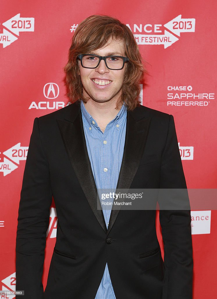 American snowboarder <a gi-track='captionPersonalityLinkClicked' href=/galleries/search?phrase=Kevin+Pearce&family=editorial&specificpeople=3107126 ng-click='$event.stopPropagation()'>Kevin Pearce</a> attends 'The Crash Reel' premiere at The Marc Theatre during the 2013 Sundance Film Festival on January 19, 2013 in Park City, Utah.