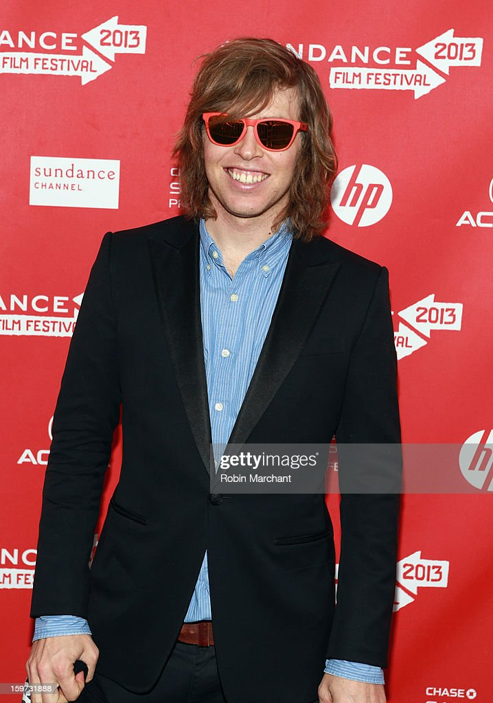 American snowboarder Kevin Pearce attends 'The Crash Reel' premiere at The Marc Theatre during the 2013 Sundance Film Festival on January 19, 2013 in Park City, Utah.