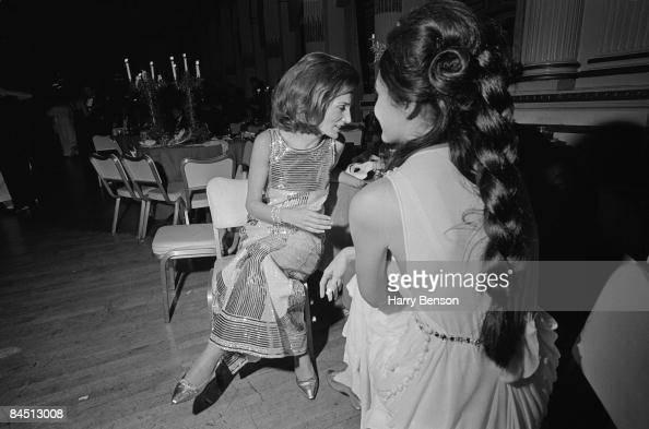 American socialite Lee Radziwill at Truman Capote's BlackandWhite Ball in the Grand Ballroom of the Plaza Hotel New York City 28th November 1966