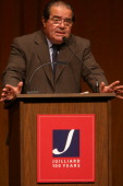 American Society for Arts event at the Juilliard School on Thursday September 22 2005This imageAntonin Scalia