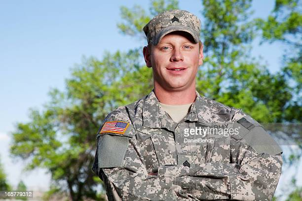 American Soldier Series: Young Sergeant Outdoor