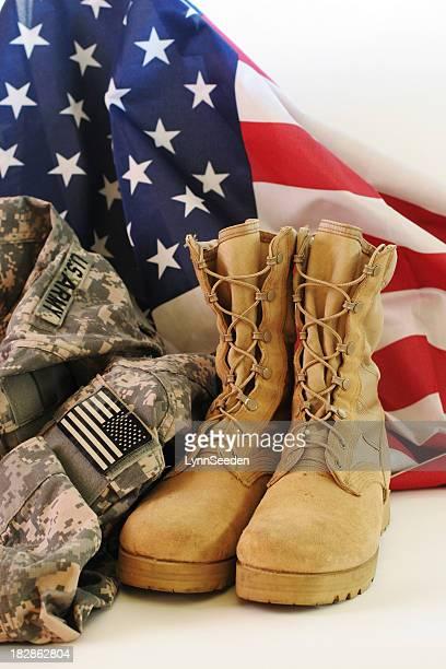 Amerikanische Soldaten uniform