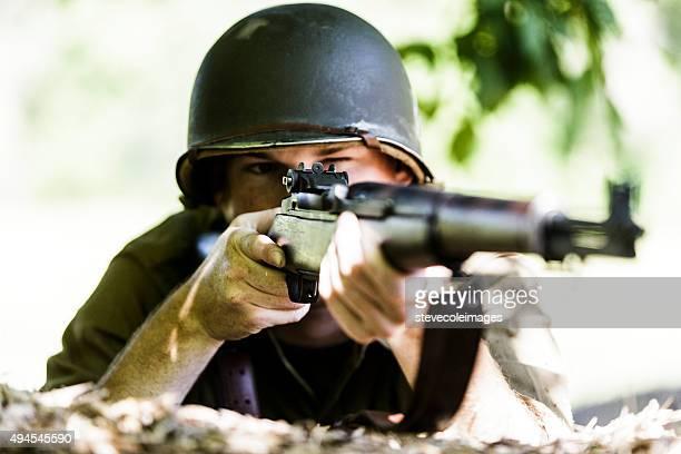 アメリカン Solider エイムとライフルを承っております。