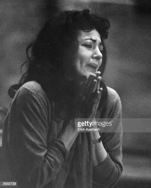 American soprano opera singer Anna Moffo