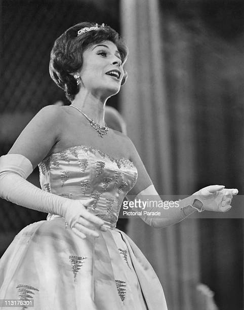 American soprano Roberta Peters performing on stage in the 1960's
