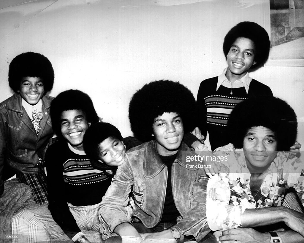 American soul pop group the Jackson Five five brothers from Indiana who are signed to Berry Gordy's Motown record label