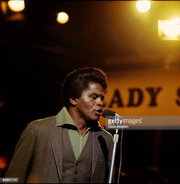 GO Photo of James BROWN performing live on Ready Steady Go at Wembley Studios